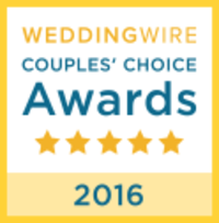 WeddingWire Couples' Choice Awards 2016 Badge